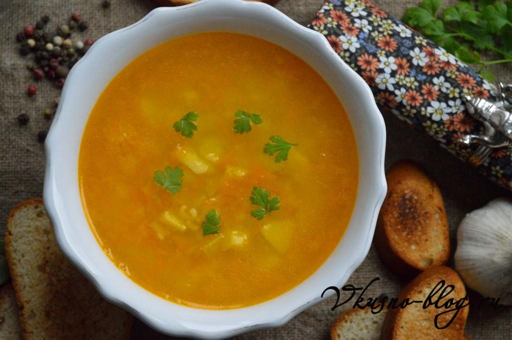 Суп с макаронами рецепт