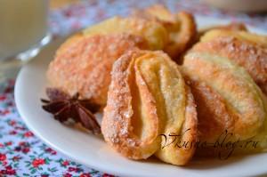 Фото-рецепт творожного печенья