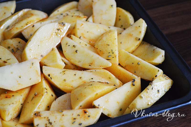 Картошка по-деревенски рецепт с фото