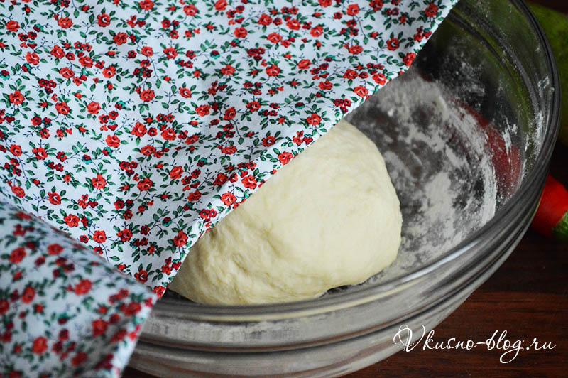 Тесто для пиццы расстойка