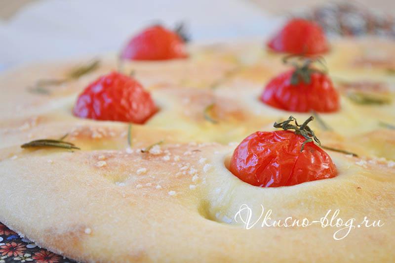 Рецепт фокачча с помидорами