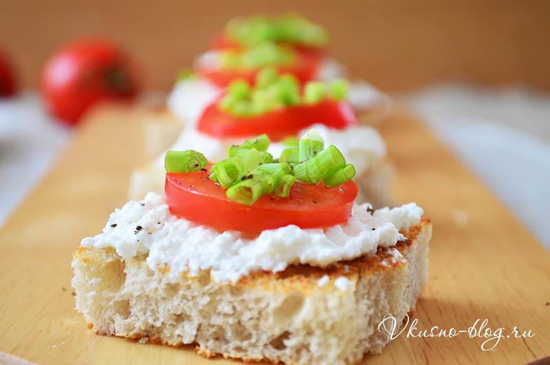 Легкие бутерброды