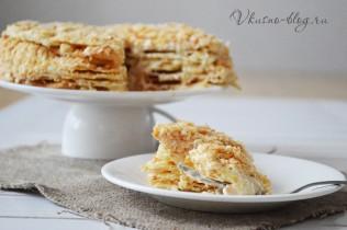 Торт Наполеон рецепт пошагово