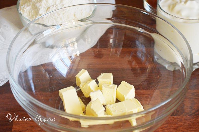 Рецепт рогаликов с повидлом - приготовление