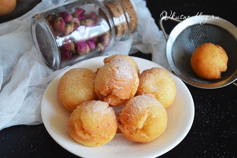 творожные пончики рецепт пошагово