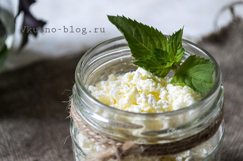 Рецепт домашнего творога из магазинного молока