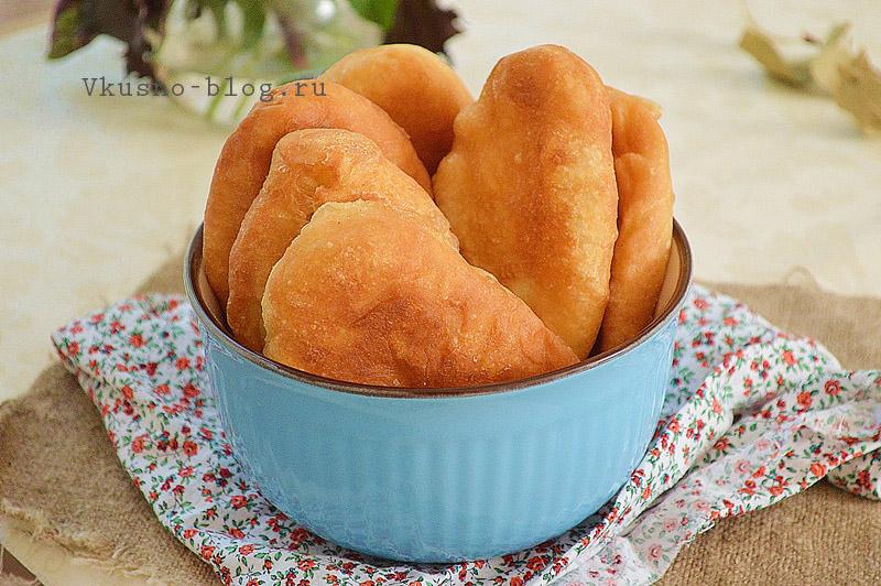 Жареные пирожки на кефире рецепт