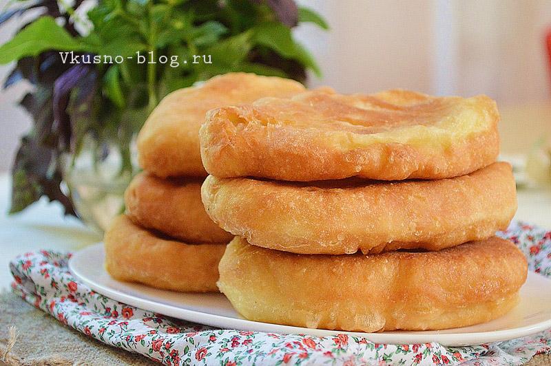 Жареные пирожки без дрожжей на кефире