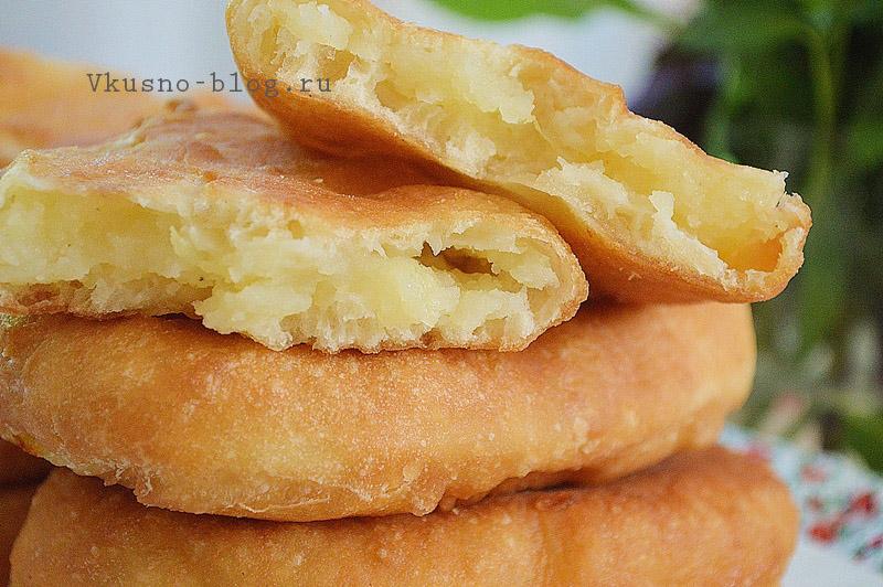 Жареные пирожки с картошкой рецепт с фото