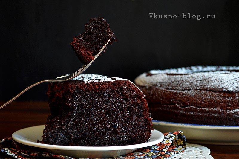 Шоколад на кипятке в мультиварке - рецепт с фото