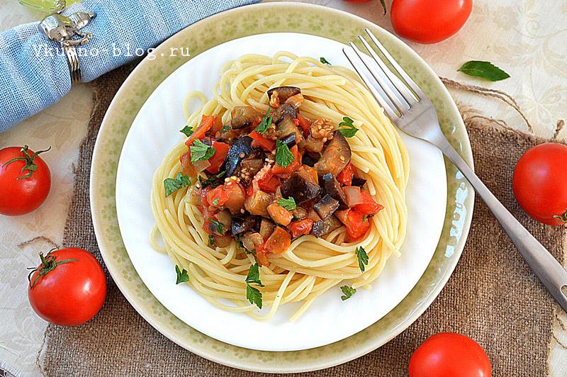 Овощной соус для спагетти фото