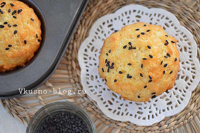 Маффины с сыром рецепт пошагово