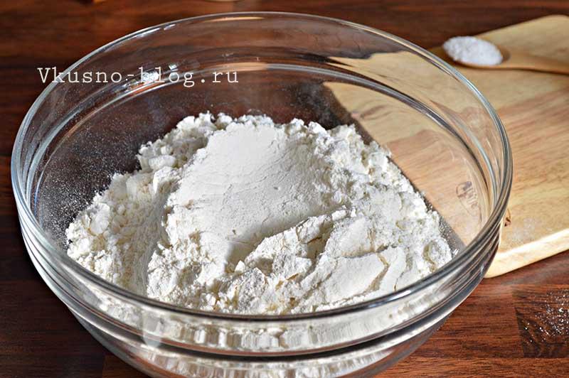 Тесто для чебуреков 2