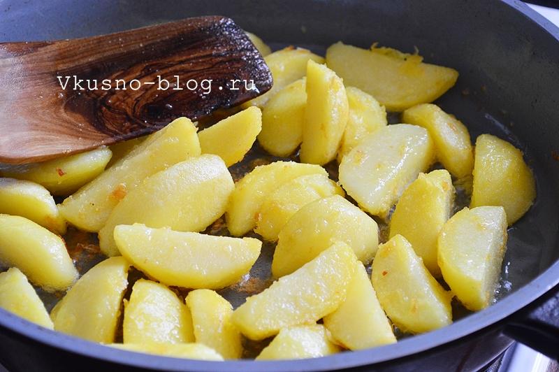 Картошка в горшочках с грибами - 2