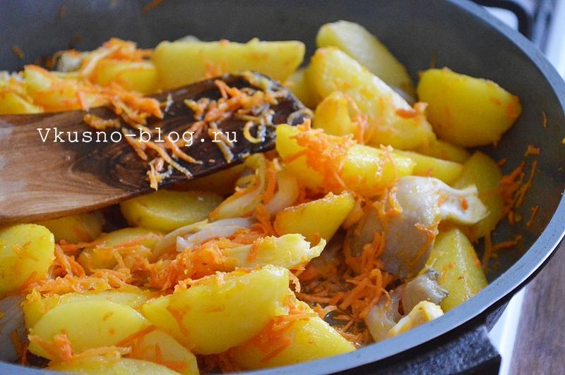 Картошка в горшочках с грибами - 4
