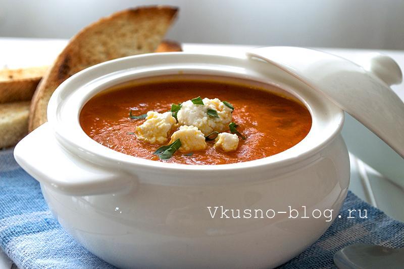 Суп из моркови готов