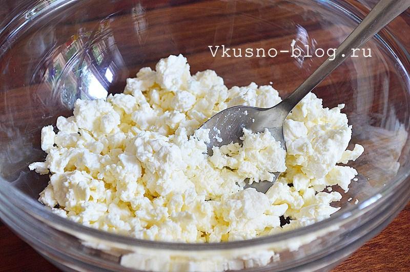 Творожное печенье с сыром 2