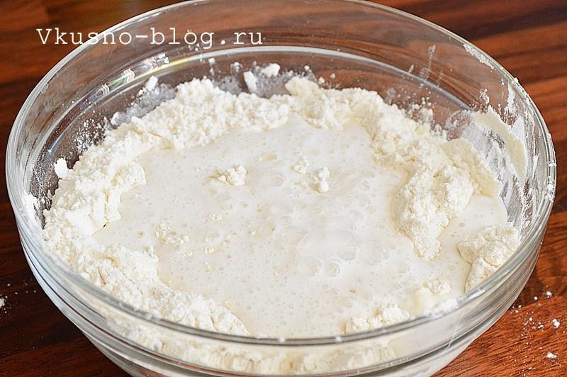 Как приготовить домашние булочки с кунжутом 4