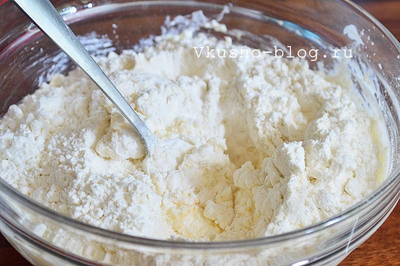 Творожное печенье с сыром 5
