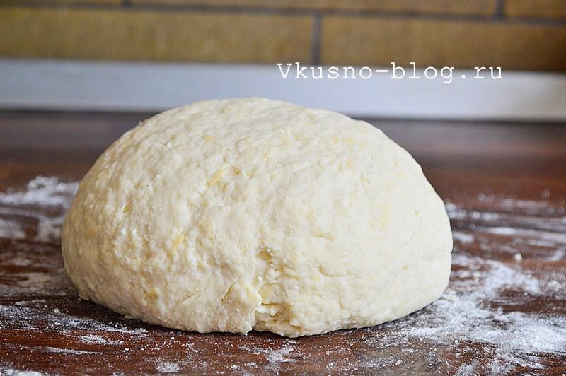 Творожное печенье с сыром 6
