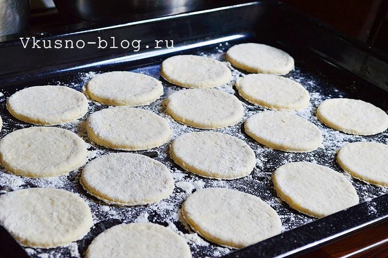 Творожное печенье с сыром 7