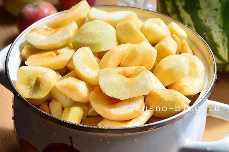 Яблочное пюре на зиму 4