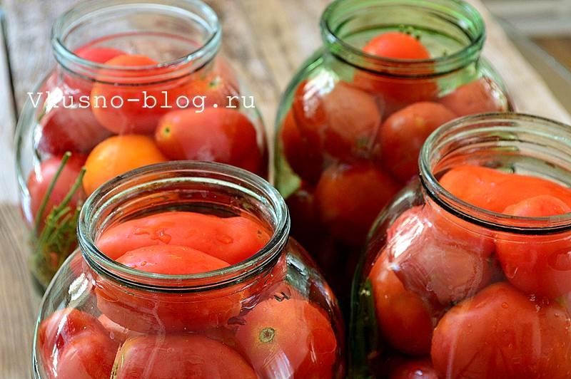 Сладкие маринованные помидоры на зиму 4