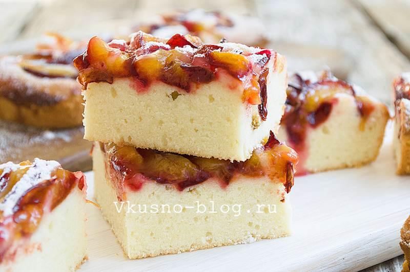 Пирог со сливами 9