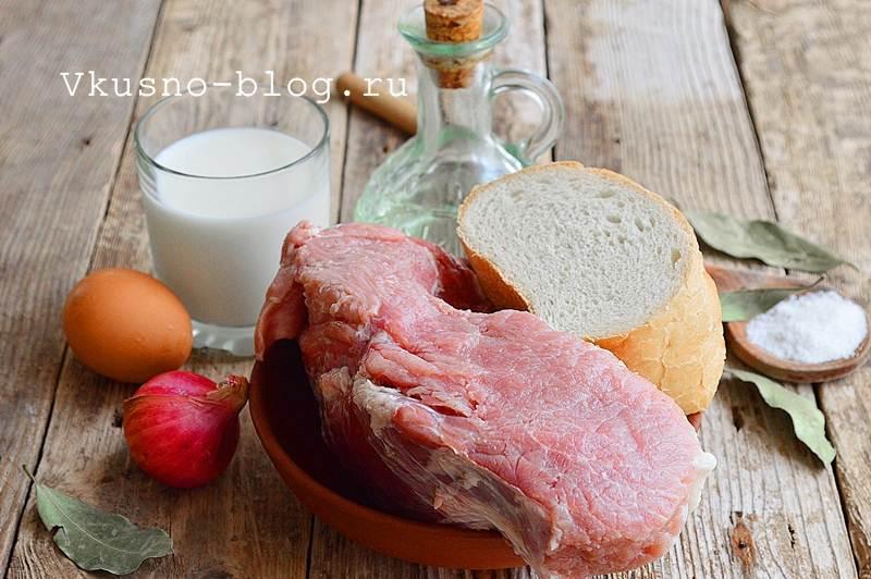 Вкусные котлеты из свинины 1