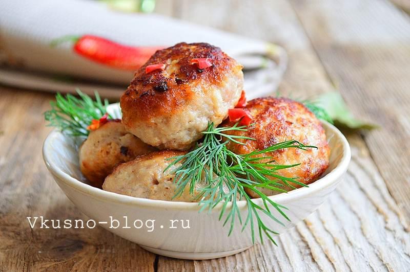 Вкусные котлеты из свинины 10