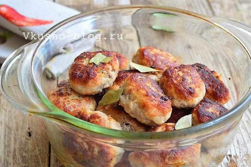 Вкусные котлеты из свинины 8