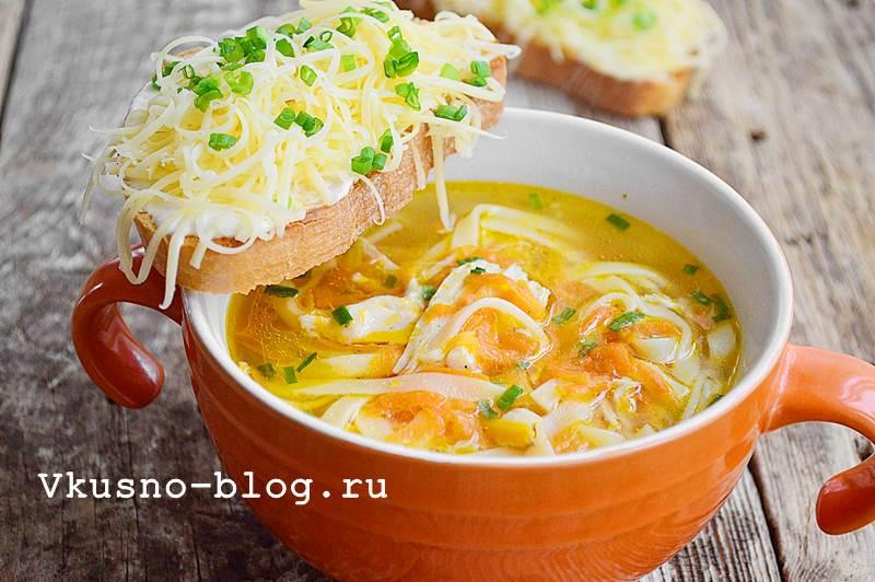 Суп лапша рецепт