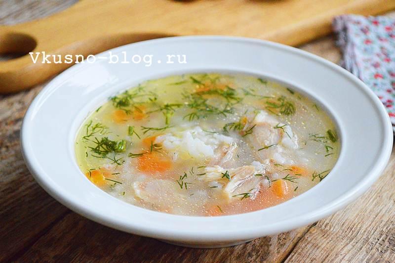 Куриный суп с рисом рецепт