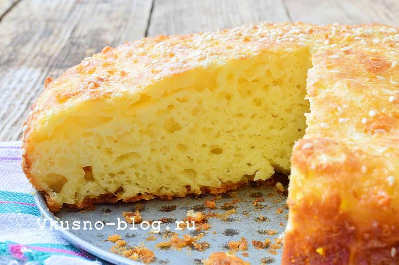 Пирог с сыром рецепт с фото