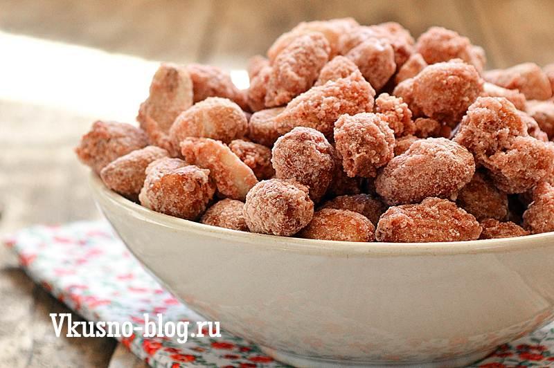Арахис в сахаре рецепт