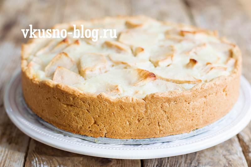Цветаевский яблочный пирог пошагово с фото