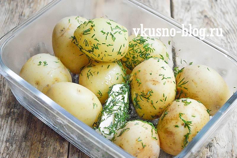 Молодая картошка как вкусно приготовить