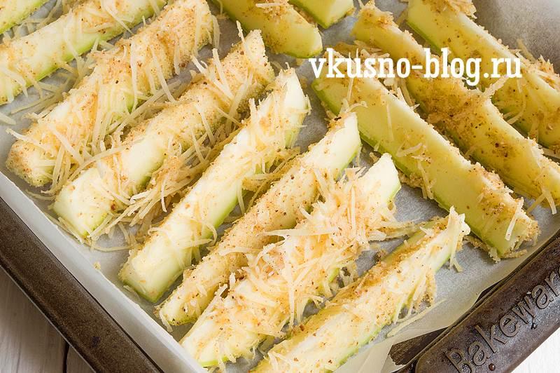 Кабачки в духовке рецепт с фото