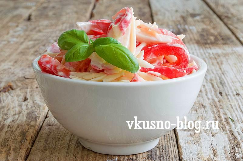 Салат красное море рецепт с фото пошагово