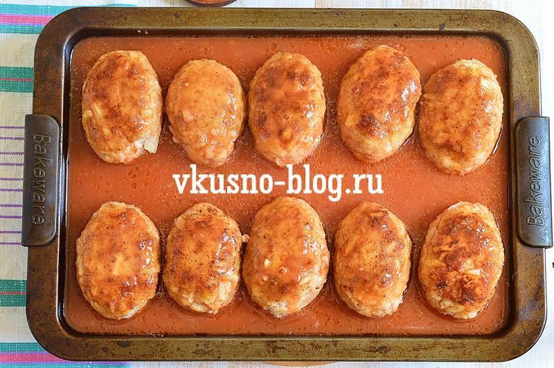 Ленивые голубцы в духовке рецепт пошагово