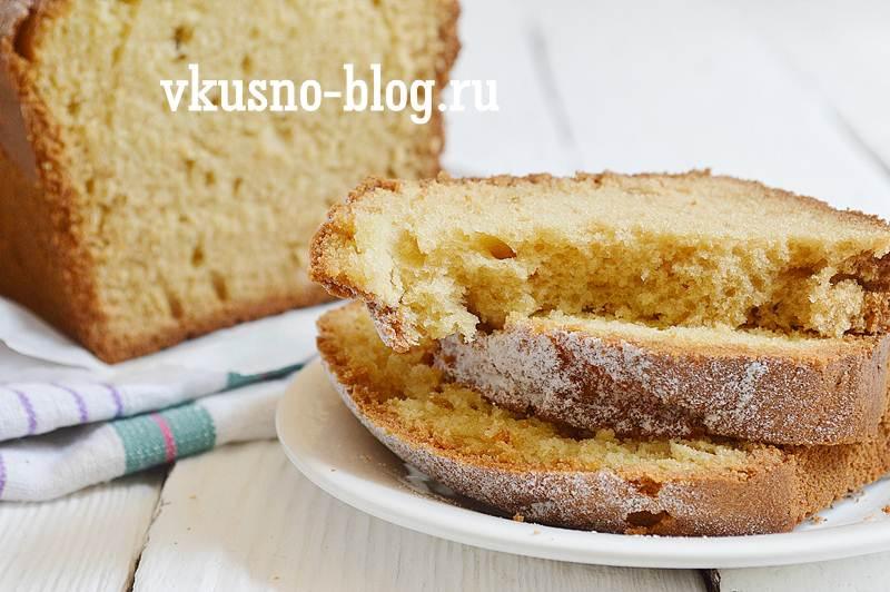 Простой и вкусный кекс на кефире