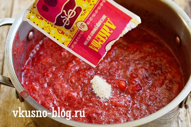 Клубничное варенье рецепт пятиминутка