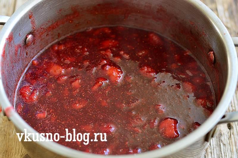 Клубничное варенье с пектином рецепт