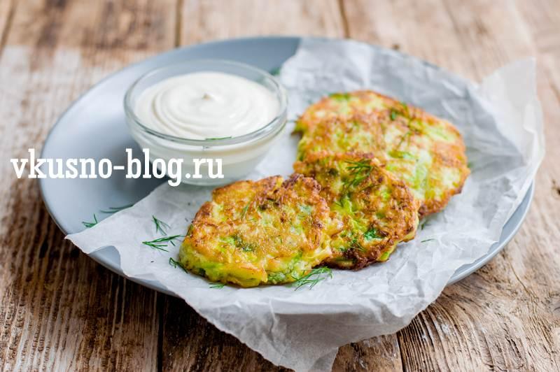 Оладьи из кабачков рецепт на сковороде