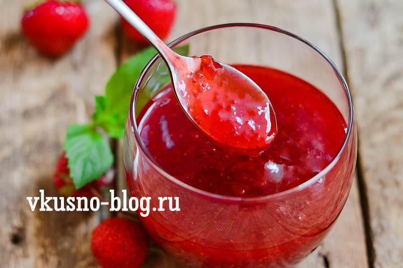 Клубничное варенье пошаговый рецепт