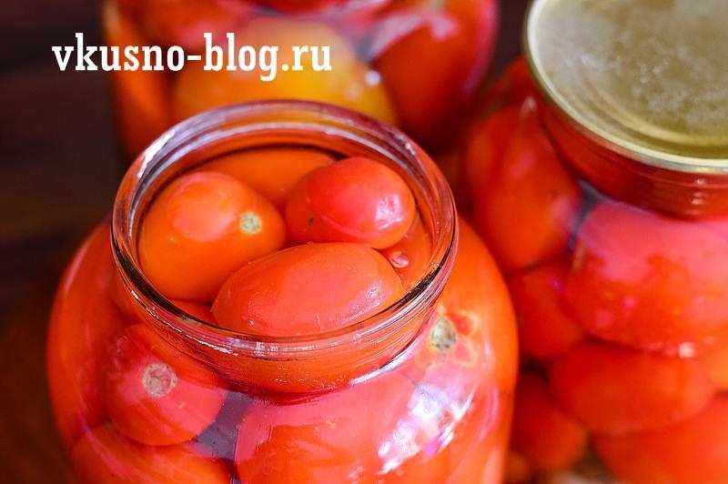 Маринованные помидоры сладкие
