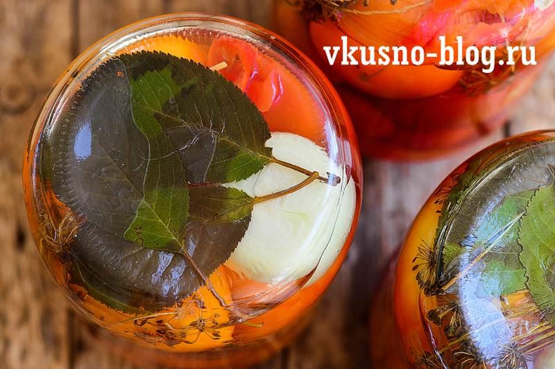 Маринованные помидоры острые