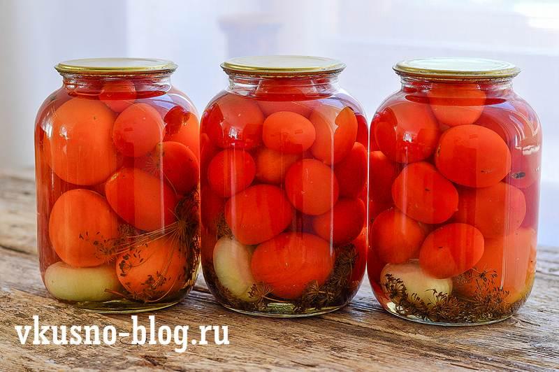 Маринованные помидоры пошагово