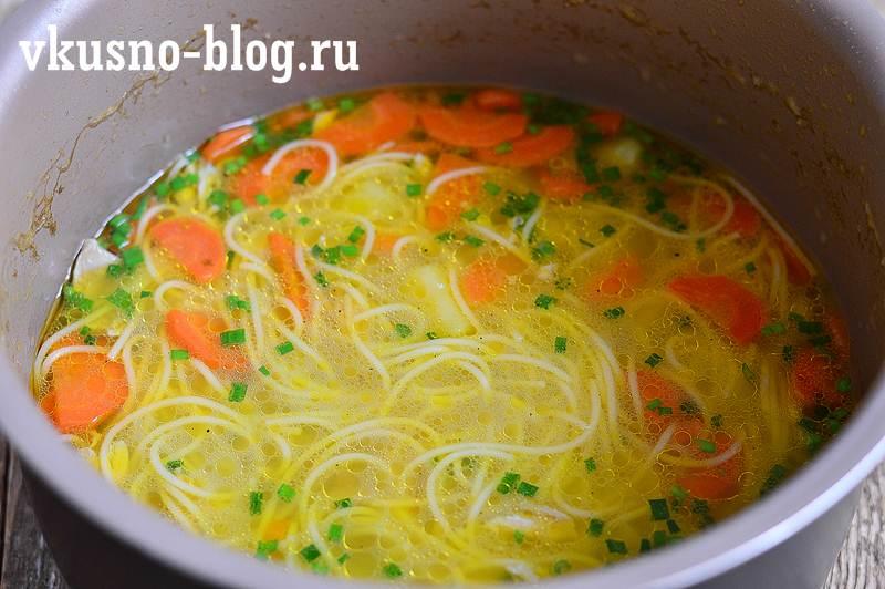 Куриный суп в мультиварке рецепт с фото