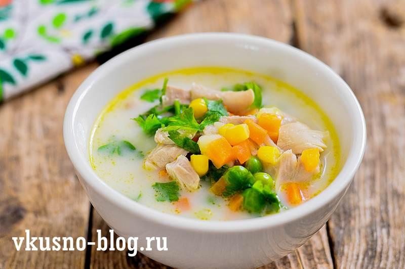 Суп с горошком рецепт
